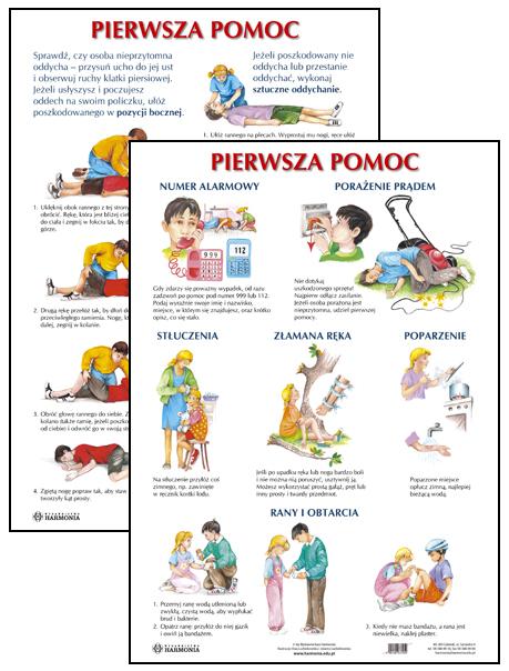 pierwsza pomoc przedmedyczna testy dla dzieci