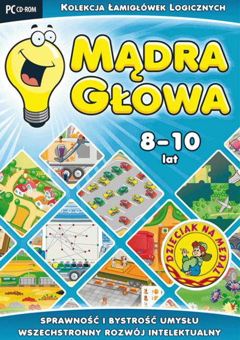 8cf5a546cd Mądra głowa (8-10 lat) - edukacyjny program komputerowy - Eduksiegarnia.pl