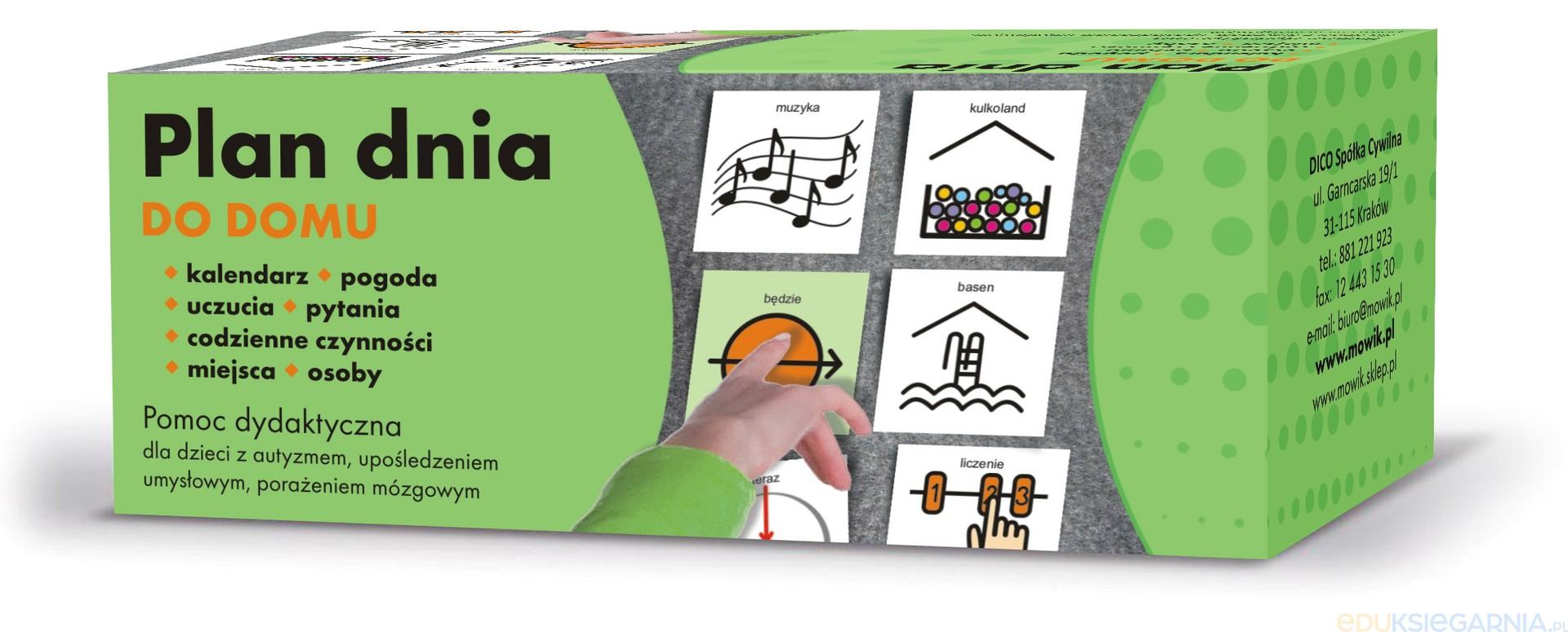 Ogromny Plan dnia DOM - pomoc dydaktyczna dla uczniów szkół specjalnych WF01