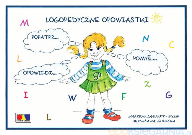 Logopedyczne Opowiastki Kolorowanka Eduksiegarnia Pl